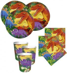 8 Dinosaurier Papp Becher – Bild 3