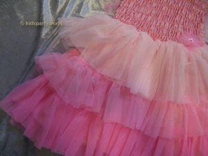 Feen Kleid pink – Bild 3