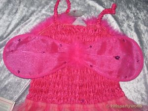 wilde Fee Kleid in pink – Bild 5