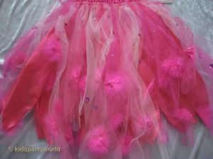 wilde Fee Kleid in pink – Bild 4