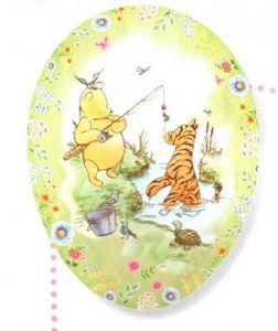 Füll- Osterei Winnie Pooh Classic Winnie und Tigger 18 cm – Bild 1