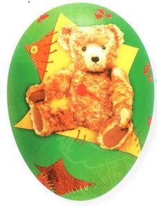 Füll- Osterei Teddy Bär – Bild 1