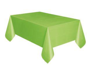 Plastik Tischdecke Hellgrün