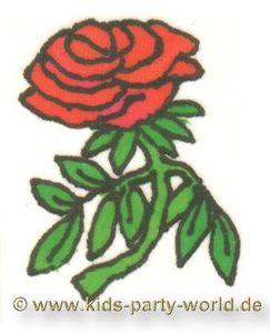 Mini Tattoo Rose