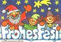 Weihnachtskarte Nikolaus mit Kindern 001