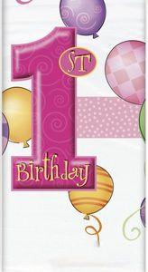 Tischdecke Erster Geburtstag
