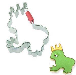 Frosch König Keks Ausstecher