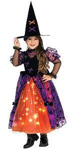 hübsche Hexe Leucht Kostüm