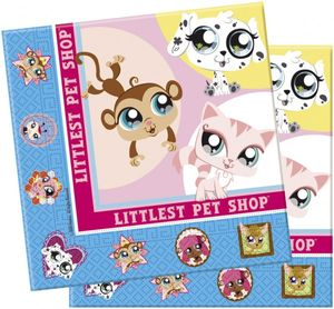 20 Littlest Pet Shop Servietten – Bild 1
