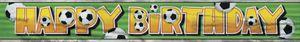 XXL Fußball Geburtstags Banner