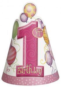 8 Erster Geburtstag Party Hütchen