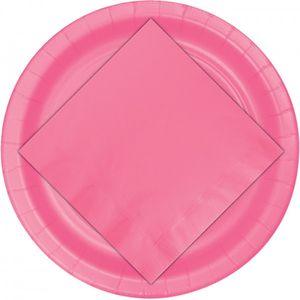 24 Pappteller Bonbon Rosa – Bild 3
