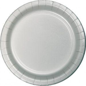 24 Papp Teller Silber