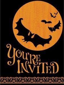 Einladungen Scary Halloween