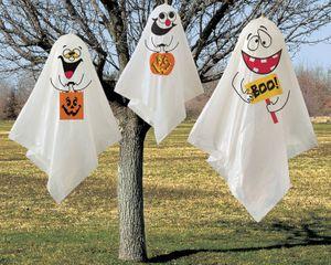3 hängende Baum Geister