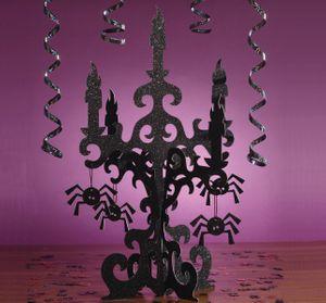 glitzernde Kerzenständer Attrappe 45cm