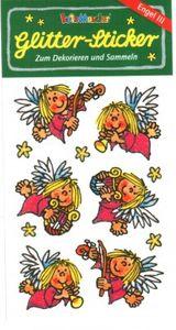 Engel Glitter Sticker