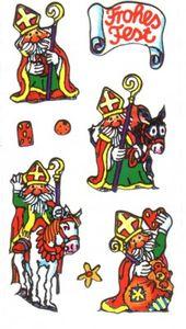 Weihnachtsmann Silver Sticker