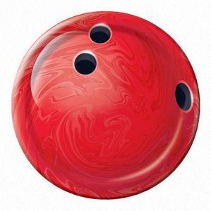 8 kleine Teller Bowling Kugel