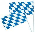 1 Papier Fahne Bayern Oktoberfest
