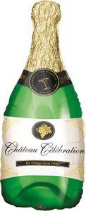 Champagner Flasche Folien Ballon