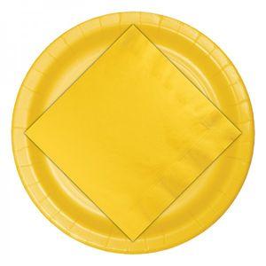 24 Papp Becher Sonnen Gelb – Bild 4