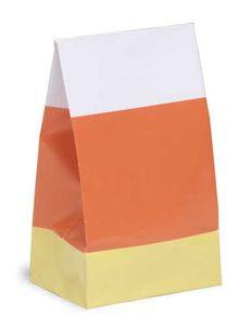 8 Papiertüten Candy Corn – Bild 2