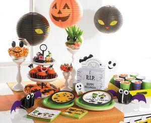 Papier Laterne Halloween Katze – Bild 2