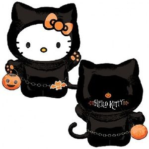 Folienballon Halloween Hello Kitty