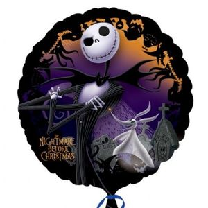 Folienballon Nightmare before Christmas