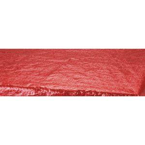 Tischdecke Rot Metallic – Bild 2