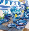 3 hängende Haifisch Swirl Girlanden