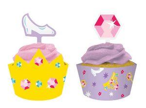 12 Märchen Prinzessin Wraps und Picks