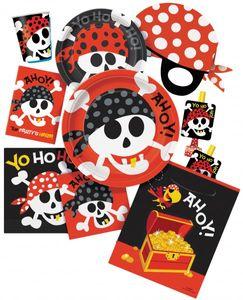 8 Einladungskarten Piraten Spaß – Bild 2
