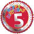 5. Geburtstag Folien Ballon