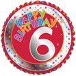 6. Geburtstag Folien Ballon