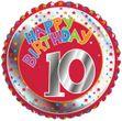 10. Geburtstag Folien Ballon