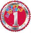 1. Geburtstag Folien Ballon