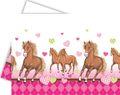 Pferde Party Tischdecke Pink Pony