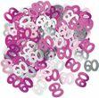 60. Geburtstag Deko Konfetti Pink