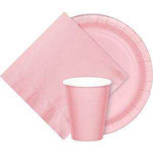 20 Servietten Pastell Rosa – Bild 2