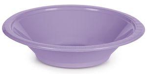 20 Plastikschalen Lavendel