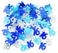 16. Geburtstag Deko Konfetti Blau