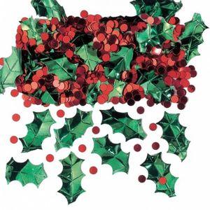 Konfetti Weihnachts Beeren