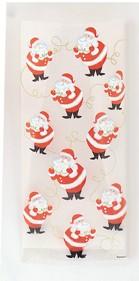 20 Weihnachtsmann Zellophantütchen