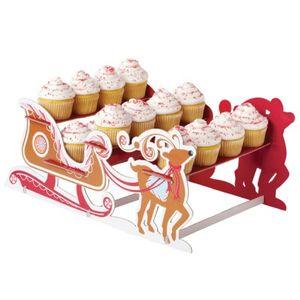 Muffin Ständer Weihnachtsschlitten