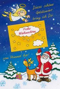 Weihnachtskarte Geldkarte