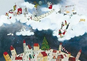 Weihnachtskarte Geschenke