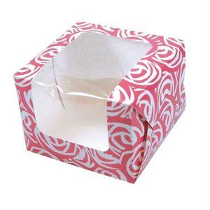 kleine Gebäck Box Rosenprint