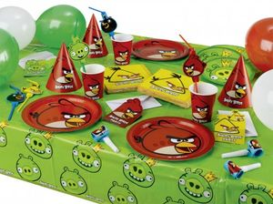 6 Angry Birds Classic Party Hütchen – Bild 2